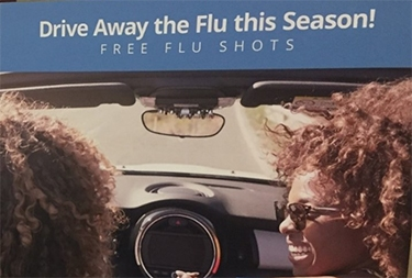 Need a Flu Shot? Pull Up to the Urgent Care Center and Roll Down Your Window