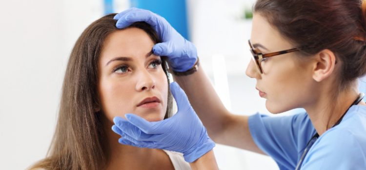 Left Eye Pain in an Overall Healthy 19-Year-old Female