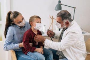 Pediatric Visit at Urgent Care, Pediatric COVID-19