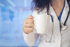Doctor Take a break, Coffee Break for a clinician