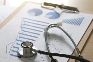 medical marketing data with graphs, digital marketing tactics for urgent care
