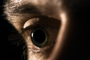 mydriatic pupil